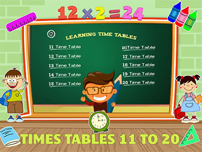 Times Table II