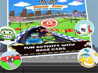 race car games for kids