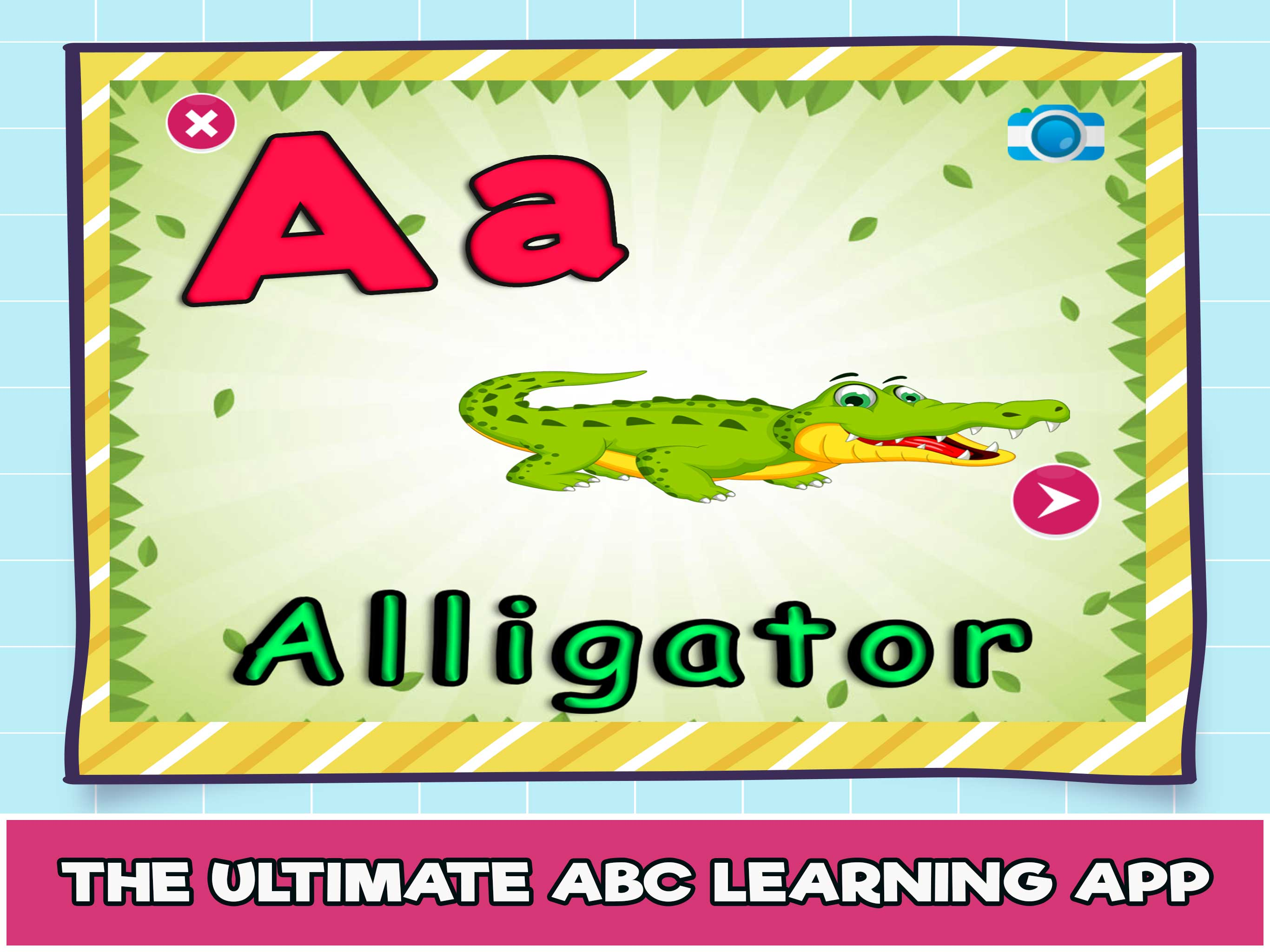 Learn Kindergarten alphabets