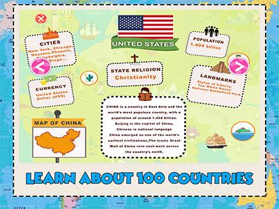 learn geography app