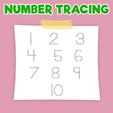 numbers-tracing